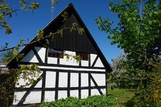 Free Traditional Classic Style Danish Country House Royalty Free Stock Photo - 20762465