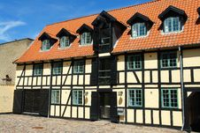 Free Traditional Classic Style  Danish Country House Royalty Free Stock Photo - 20762555
