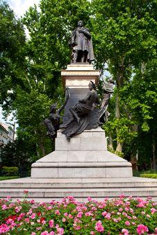 Free Domenico Rossetti Monument, Trieste Royalty Free Stock Photo - 20763795