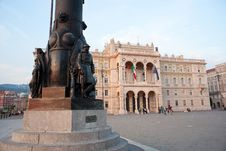 Free Monument At A Soldiers, Trieste Royalty Free Stock Images - 20763949