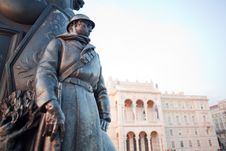 Free Monument At A Soldiers, Trieste Stock Images - 20764204