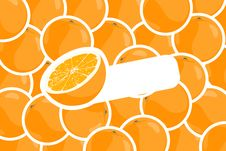 Free Vector Oranges Stock Photo - 20764270