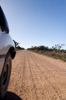 Free Australian Outback Road Royalty Free Stock Photography - 20764317