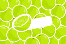 Free Ripe Lime Stock Photography - 20764362