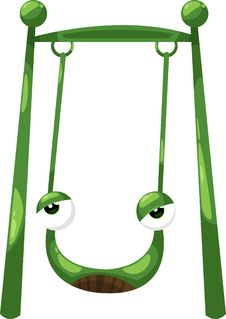 Free Frog Swing Vector Stock Images - 20765194