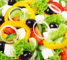 Free Fresh Salad Royalty Free Stock Photography - 20765377