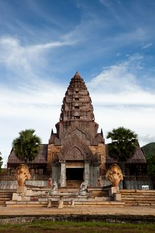 Free Castle Rock In Thailand Royalty Free Stock Photos - 20765638