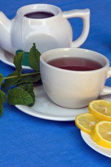 Free Mint Tea Royalty Free Stock Photos - 20766368