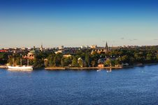 Free Stockholm At Sunset, Sweden Royalty Free Stock Image - 20766616