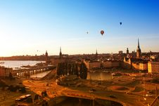 Free Panorama Of Stockholm, Sweden Stock Image - 20766651