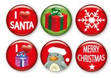 Free Christmas Badges Stock Photo - 20768000