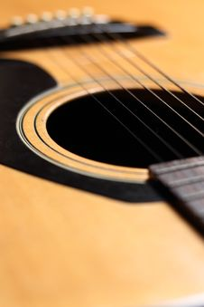 Free Guitar Close-up Royalty Free Stock Photography - 20768157