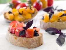 Free Bruschetta Stock Photos - 20768563