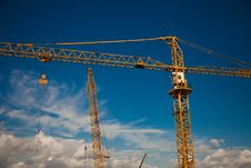 Free Working Crane Stock Photography - 20768842