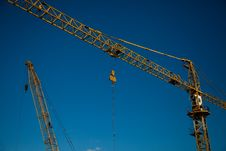 Free Working Crane Stock Photos - 20768853