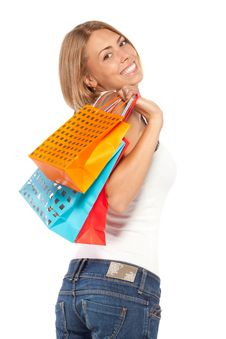 Free Happy Shopping Hours Royalty Free Stock Photos - 20769888