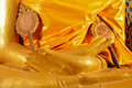 Free Hand Of Golden Buddha Statue Royalty Free Stock Photo - 20775275