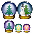 Free Snowglobe Set Stock Images - 20776594