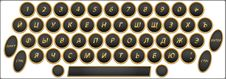 Free Qwerty Buttons Rus Royalty Free Stock Photos - 20770938