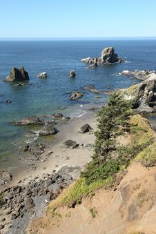 Free Ecola State Park, Oregon Coast & Pacific Ocean. Royalty Free Stock Images - 20771559