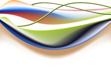 Free Abstract Colorful Wave Style Stock Photo - 20772370