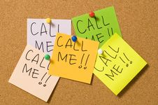 Free Call Me ! Stock Photos - 20772663
