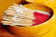 Free Joss Stick Royalty Free Stock Photo - 20772995
