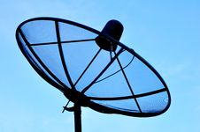 Free Satellite Dish Royalty Free Stock Photo - 20773025