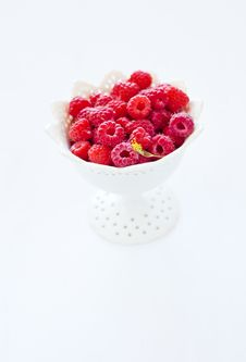 Free Raspberry In Bowl Royalty Free Stock Images - 20773909