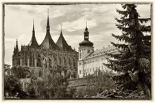View Of Kutna Hora Royalty Free Stock Image
