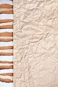 Abstract Old Crushed Paper Royalty Free Stock Images