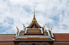 Free Roof Of The Temple Stock Photography - 20774462
