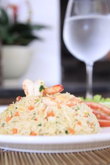 Free Fried Rice With Shrimp Stock Images - 20774554