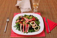 Free Italian Frutti Di Mare Salad On Table Royalty Free Stock Photo - 20774585