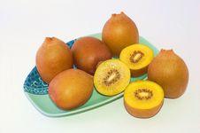 Free New Zealand Gold Kiwifruit Royalty Free Stock Images - 20774829