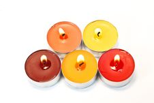 Free Colore Candles Stock Image - 20774921