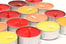 Free Colore Candles Royalty Free Stock Photo - 20774935
