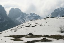 Free Snowy Landscape Royalty Free Stock Images - 20774989