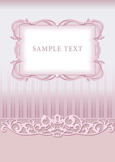Free Wedding Invitation, Frame Royalty Free Stock Image - 20775166