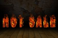 Free Burning Words Hot Sale Stock Photos - 20775623