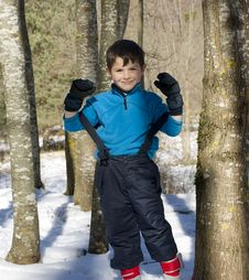 Free Child On The Snow Royalty Free Stock Image - 20775626