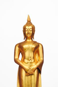 Free Golden Buddha Statue Stock Images - 20775744