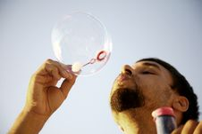 Free Making Bubbles Stock Images - 20775804