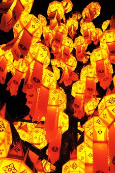Free Paper Lamp, Lanterns Festival Stock Photo - 20775910