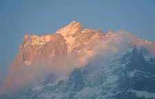 Free The Mountain  Wetterhorn Stock Image - 20775961