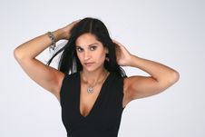 Free Beautiful Woman With Necklace Royalty Free Stock Photography - 20779357