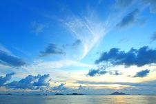 Free Seascape At Day Royalty Free Stock Photo - 20779555