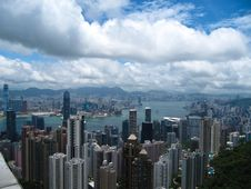 Free Hong Kong Skyline Stock Images - 20779724