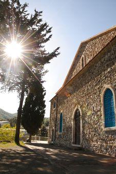 Free Sun Over The Church Stock Photos - 20779823