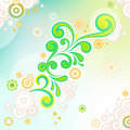 Free Abstract Swirl Floral Background Stock Image - 20787801